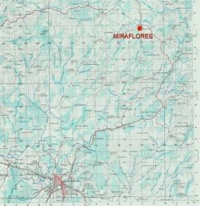 Mapa de Ubicacion de Valle Miraflores